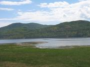 Земельный участок в р. п. Большая речка Иркутской обл,  правая сторона