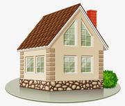 Продаю земельный участок с домом под строительство. Недорого.