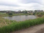 Земля в п. Булгаково,  17 соток в собственности - напротив пруда